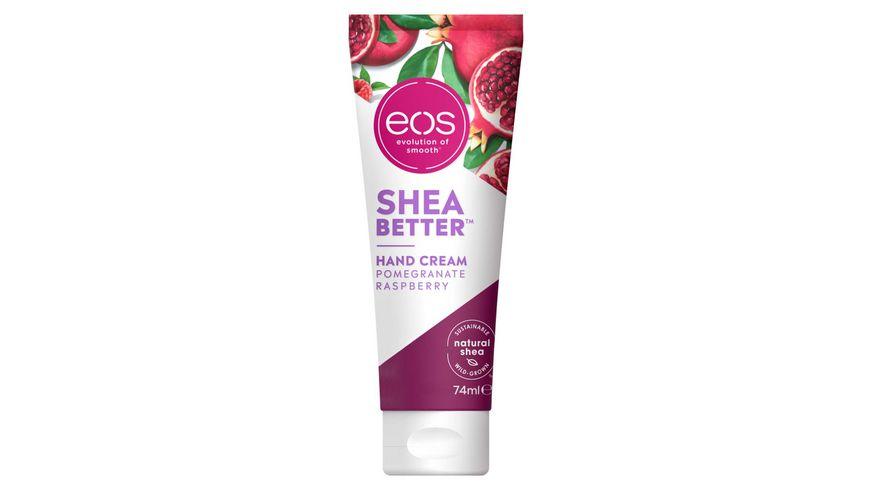 eos Shea Better Handcreme Pomegranate Rasberry