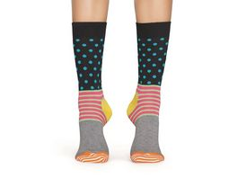 Happy Socks Socke Stripe and Dot Sock
