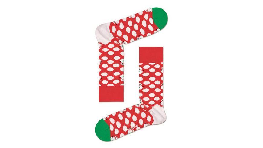 Happy Socks Socke Big Dot Snowman