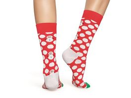 Happy Socks Socke Big Dot Snowman