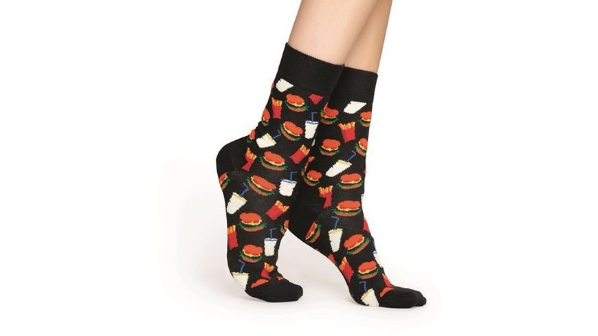 Happy Socks Socke Hamburger
