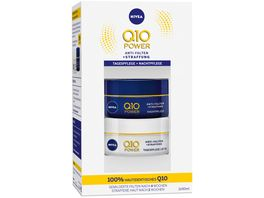 NIVEA Q10 Anti Falten Straffung Tag und Nachtgesichtspflege Set