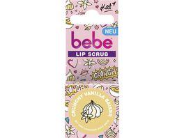 bebe Lip Scrub Crunchy Vanilla Baiser