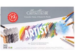 CRETACOLOR Artist Studio 72 teiliges Zeichen Set im Metalletui