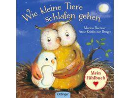 Wie kleine Tiere schlafen gehen Mein Fuehlbuch
