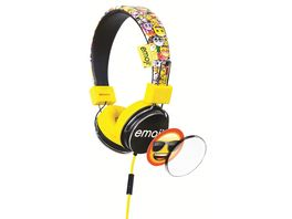 Emoji Kopfhoerer gelb