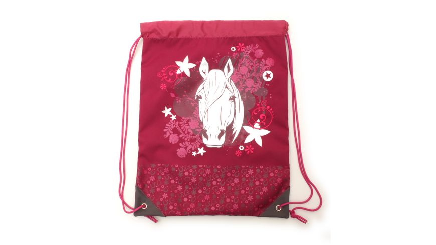 in school Basic Schulranzen Set 5teilig Pferd