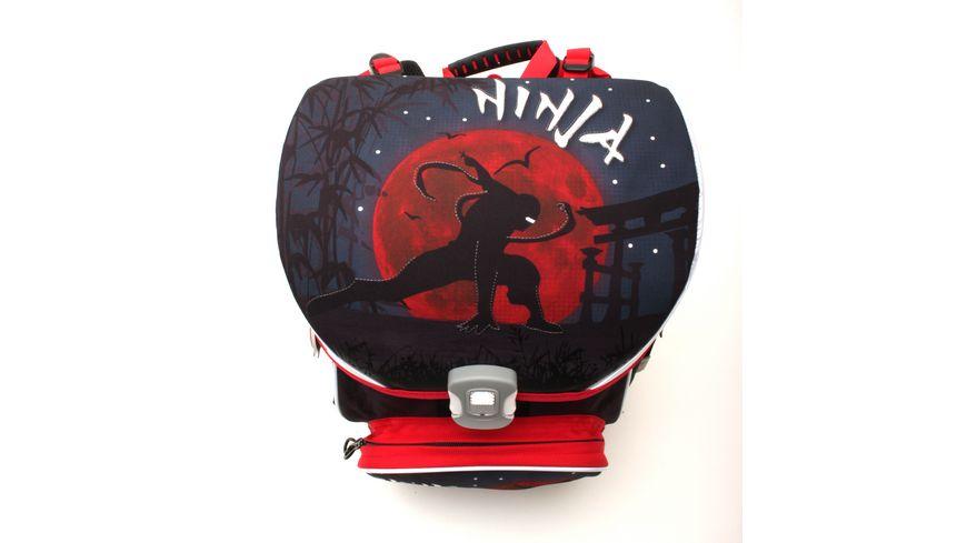 in school Basic Schulranzen Set 5teilig Ninja