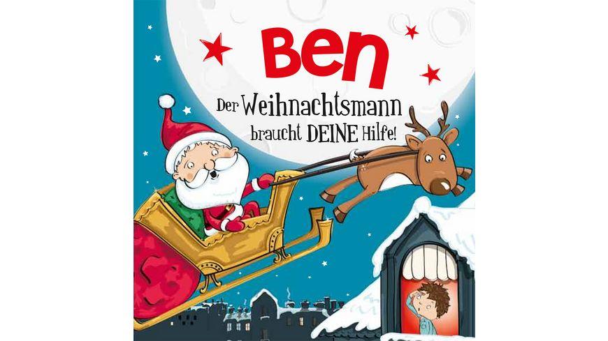 H H Namens Weihnachtsbuch Ben