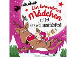 H H Namens Weihnachtsbuch Besonderes Maedchen