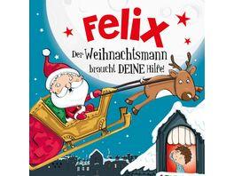 H H Namens Weihnachtsbuch Felix