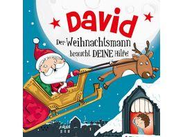 H H Namens Weihnachtsbuch David