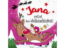 H H Namens Weihnachtsbuch Jana