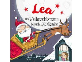 H H Namens Weihnachtsbuch Lea