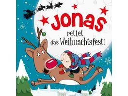 H H Namens Weihnachtsbuch Jonas