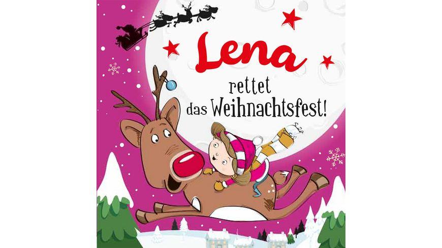 H H Namens Weihnachtsbuch Lena