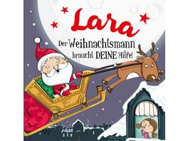 H H Namens Weihnachtsbuch Lara