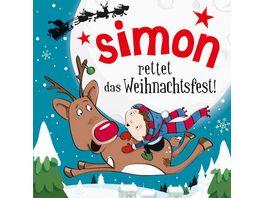 H H Namens Weihnachtsbuch Simon