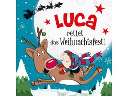 H H Namens Weihnachtsbuch Luca