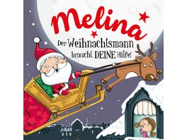 H H Namens Weihnachtsbuch Melina