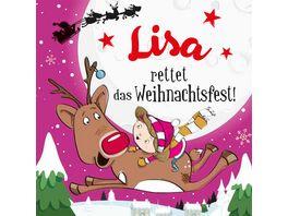 H H Namens Weihnachtsbuch Lisa