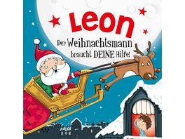 H H Namens Weihnachtsbuch Leon