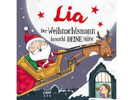 H H Namens Weihnachtsbuch Lia