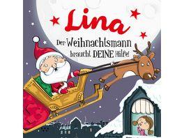 H H Namens Weihnachtsbuch Lina