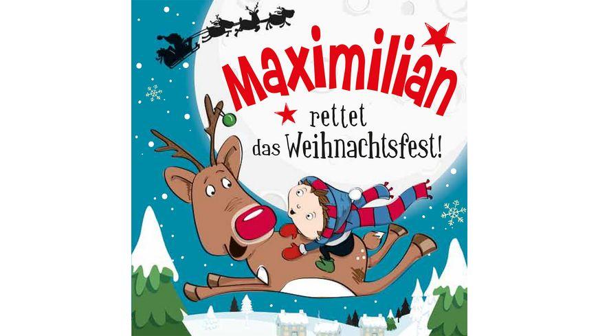 H H Namens Weihnachtsbuch Maximilian
