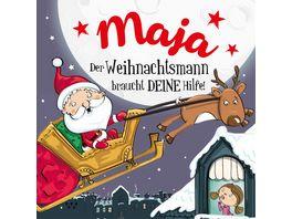 H H Namens Weihnachtsbuch Maja