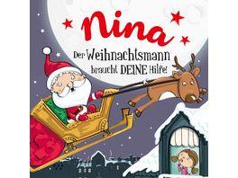 H H Namens Weihnachtsbuch Nina