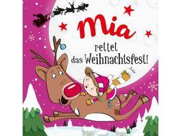 H H Namens Weihnachtsbuch Mia