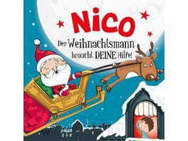 H H Namens Weihnachtsbuch Nico