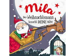 H H Namens Weihnachtsbuch Mila