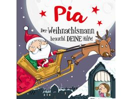 H H Namens Weihnachtsbuch Pia