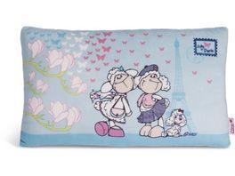 NICI Kissen Jolly Chic und Jolly Paris rechteckig 43x25