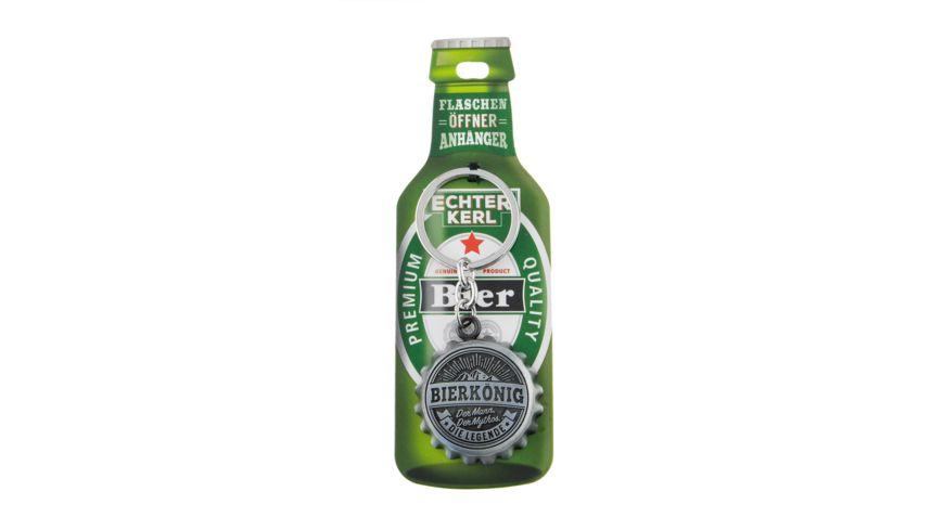 H&H Flaschenöffner Bierkönig