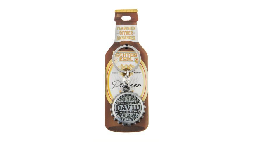 H H Flaschenoeffner David