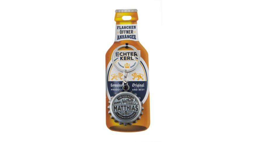 H H Flaschenoeffner Matthias