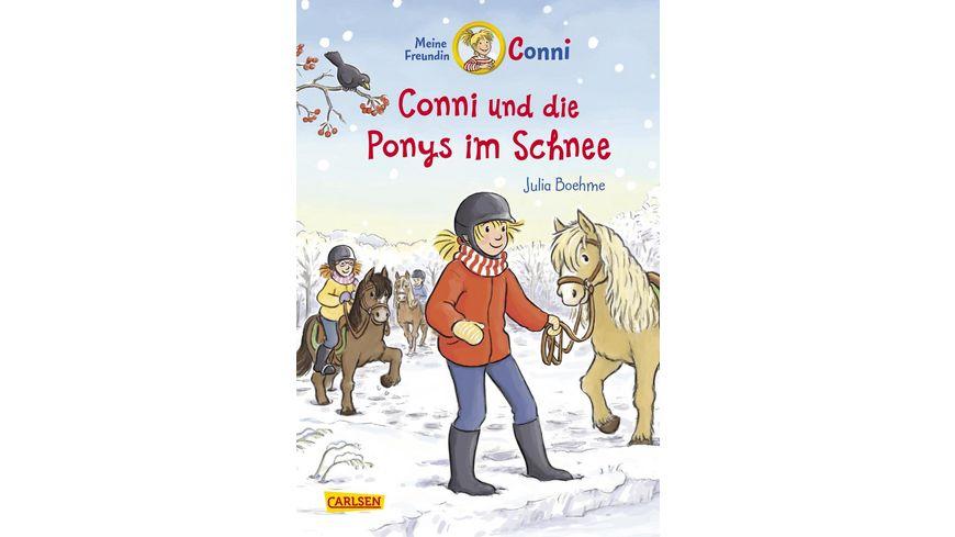 Conni-Erzählbände 34: Conni und die Ponys im Schnee