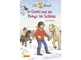 Conni Erzaehlbaende 34 Conni und die Ponys im Schnee