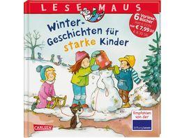 LESEMAUS Sonderbaende Winter Geschichten fuer starke Kinder