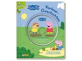 Peppa Vorlesegeschichten mit CD 6 froehliche Geschichten zum Vorlesen und Anhoeren