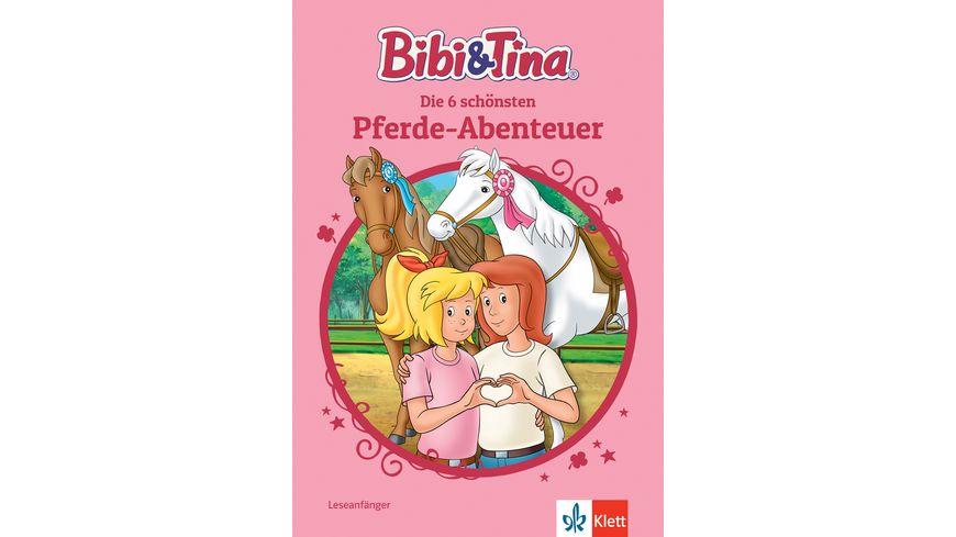Bibi Tina Die 6 schoensten Pferde Abenteuer Leseanfaenger ab 6 Jahren