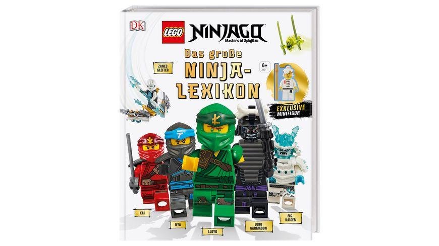 LEGO NINJAGO Das grosse Ninja Lexikon Mit exklusiver Minifigur