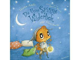 Die kleine Spinne Widerlich sagt Gute Nacht Pappbilderbuch