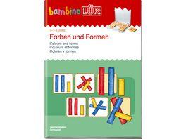 bambinoLUeK Uebungshefte bambinoLUeK Kindergarten 3 4 5 Jahre Farben und Formen