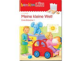 bambinoLUeK Uebungshefte bambinoLUeK Kindergarten 2 3 Jahre Meine kleine Welt
