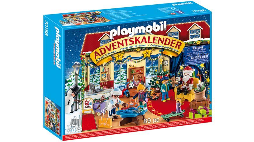PLAYMOBIL 70188 Adventskalender Weihnachten im Spielwarengeschaeft