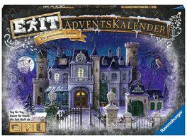 Ravensburger Beschaeftigung EXIT Adventskalender Das geheimnisvolle Schloss